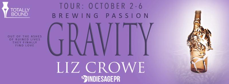 Gravity by Liz Crowe: Excerpt & Giveaway