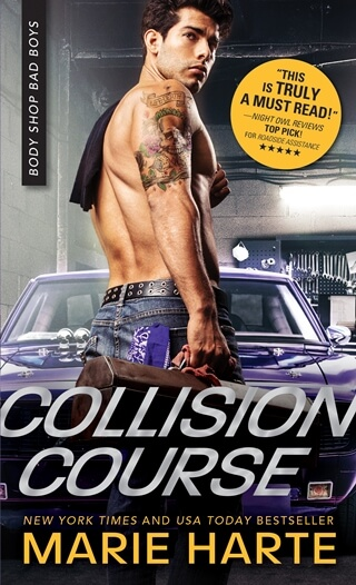 COLLISION COURSE by Marie Harte Review, Excerpt & Giveaway