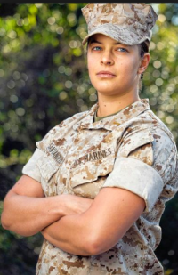 Female Marine 1