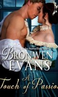 A TOUCH OF PASSION by Bronwen Evans: ARC Review & Giveaway