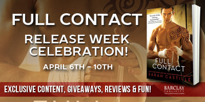 FULL CONTACT by Sarah Castille: Excerpt & Giveaway