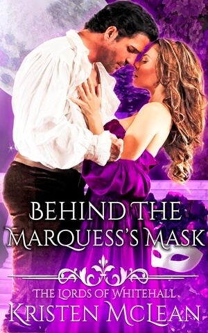 Behind The Marquess's Mask Cover