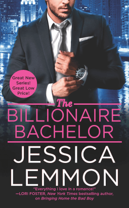 THE BILLIONAIRE BACHELOR by Jessica Lemmon: Review & Excerpt