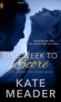 ONE WEEK TO SCORE by Kate Meader: Review