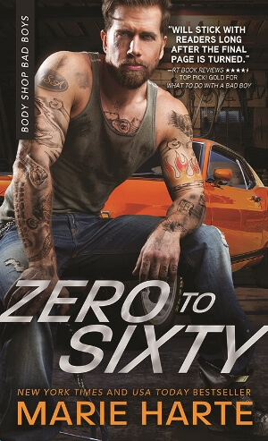 ZERO TO SIXTY by Marie Harte: Excerpt & Giveaway