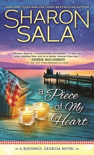 A PIECE OF MY HEART by Sharon Sala: Spotlight, Excerpt & Giveaway