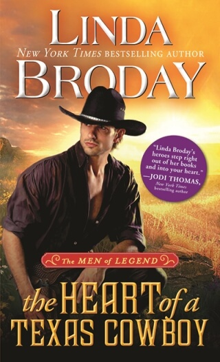 HEART OF A TEXAS COWBOY by Linda Broday: Excerpt & Giveaway