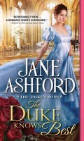THE DUKE KNOWS BEST by Jane Ashford: Excerpt & Giveaway