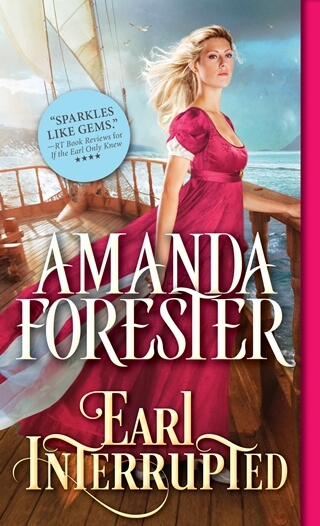 EARL INTERRUPTED by Amanda Forester: Spotlight, Excerpt & Giveaway