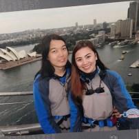 Sydney Opera House at the back