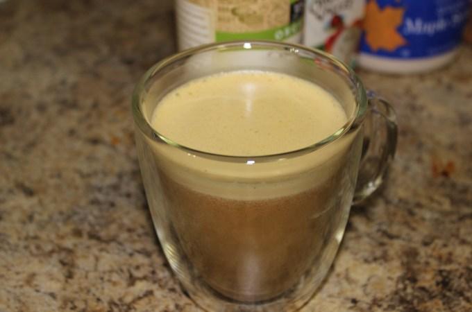 Sassy Pumpkin Coffee Drink