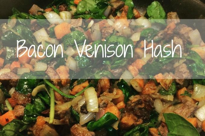Bacon Venison Hash