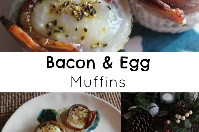 Sassy's Bacon & Egg Muffins