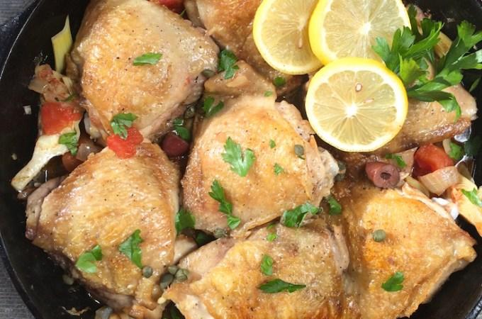 Guest Blog: Greek Skillet Chicken