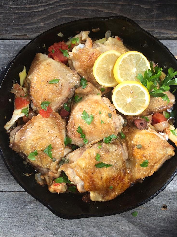 Greek Skillet Chicken 2