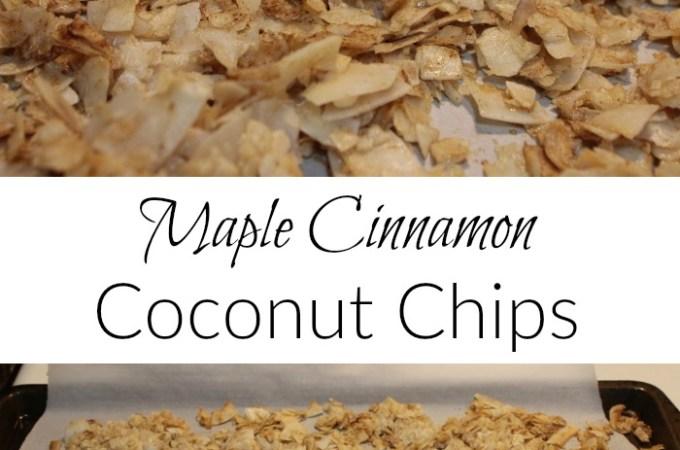 Maple Cinnamon Coconut Chips