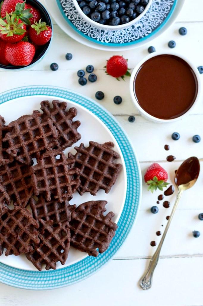 Mini-Chocolate-Waffles-savorylotus