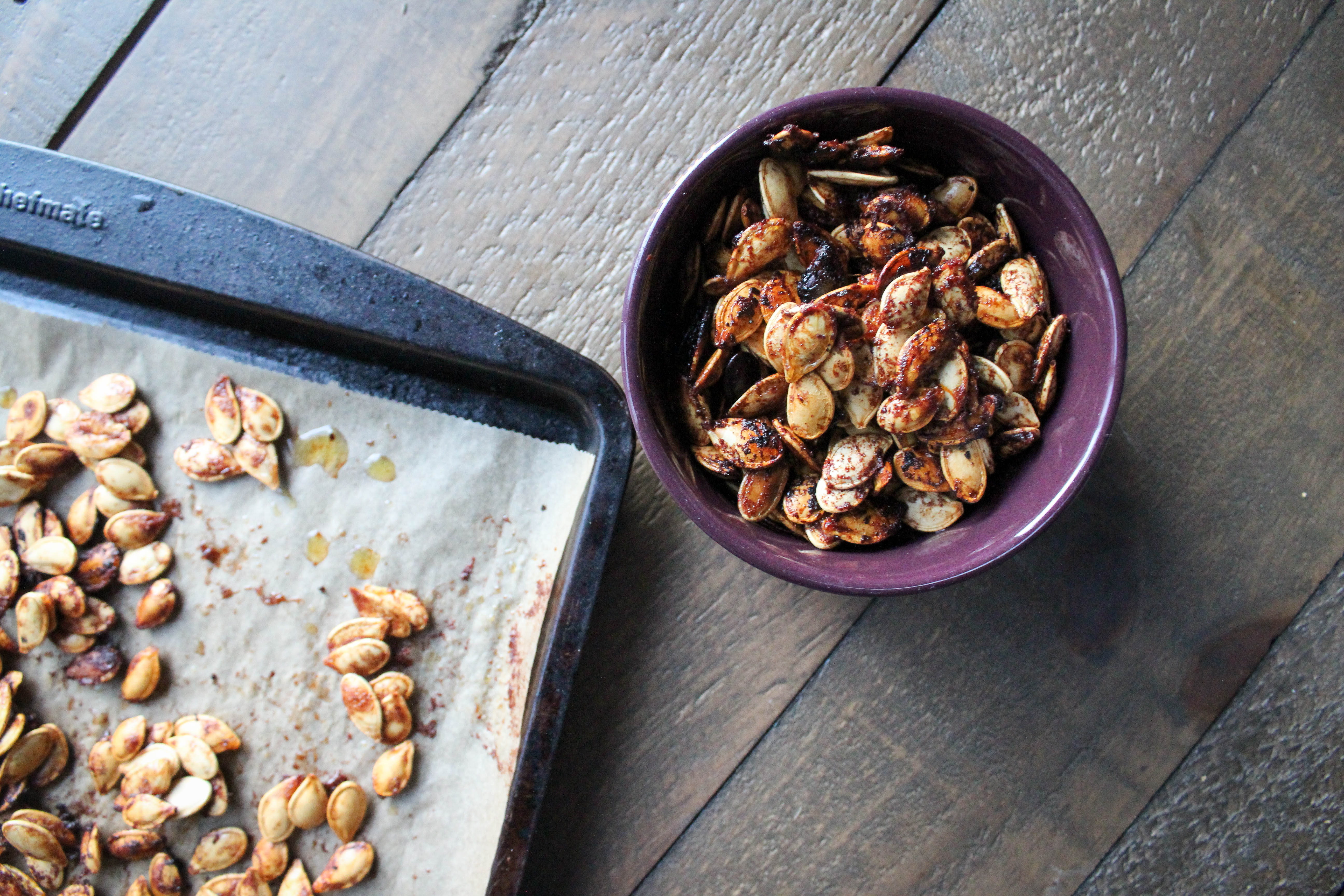 roasted pumpkin seeds