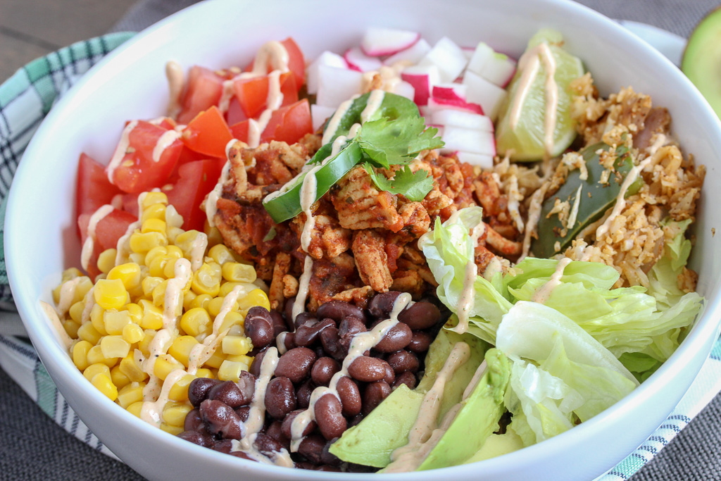 Easy Turkey Burrito Bowls