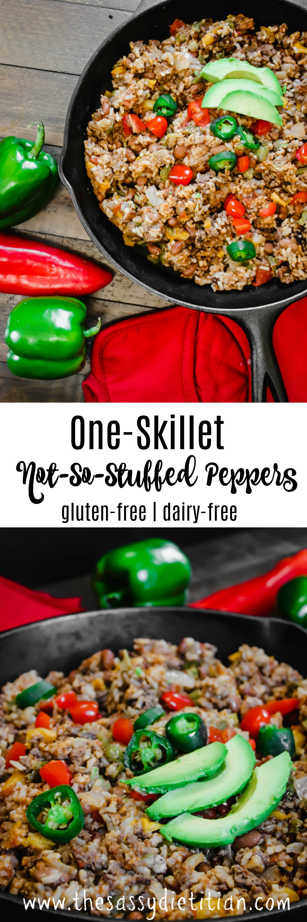 not so stuffed peppers