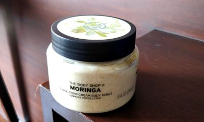 The Body Shop Moringa Cream Body Scrub
