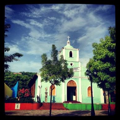 Church in San Juan del Sur, Nicaragua
