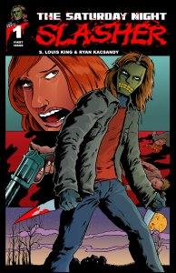 Print Cover of The Saturday Slasher #1.