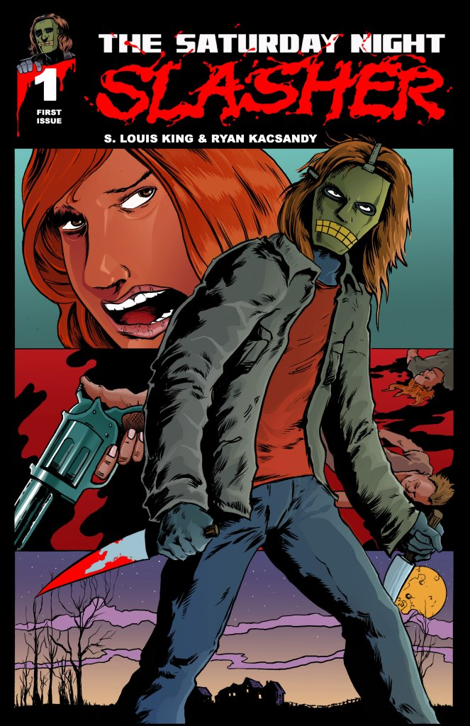 Print Cover of The Saturday Slasher #1.