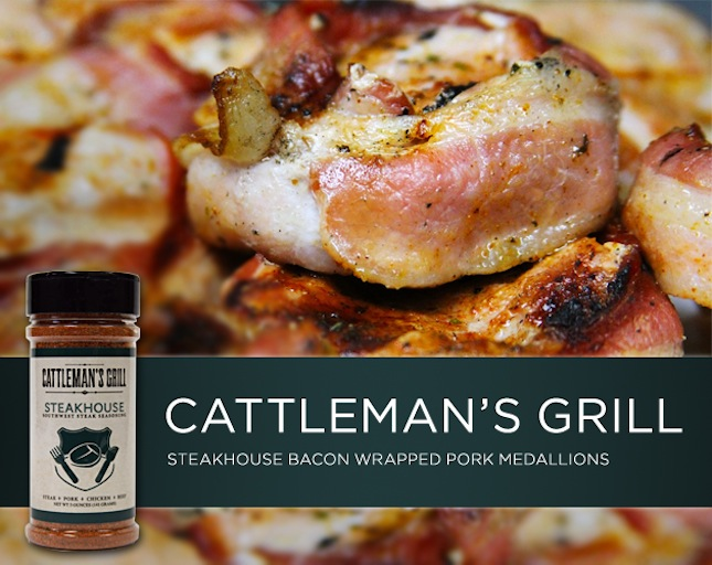 Cattleman's Grill Steakhouse Bacon Wrapped Pork Medallions