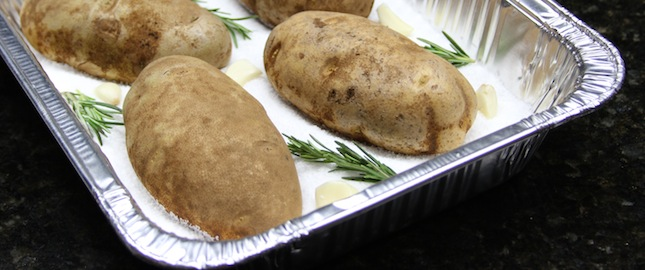 Recipe Salt Baked Potato The Sauce By All Things Bbq