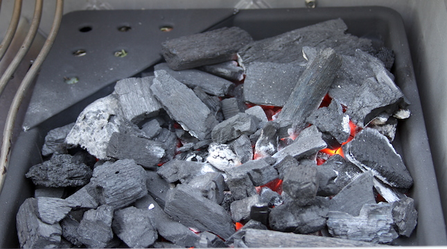 napoleon-prestige-charcoal-grate-lighting