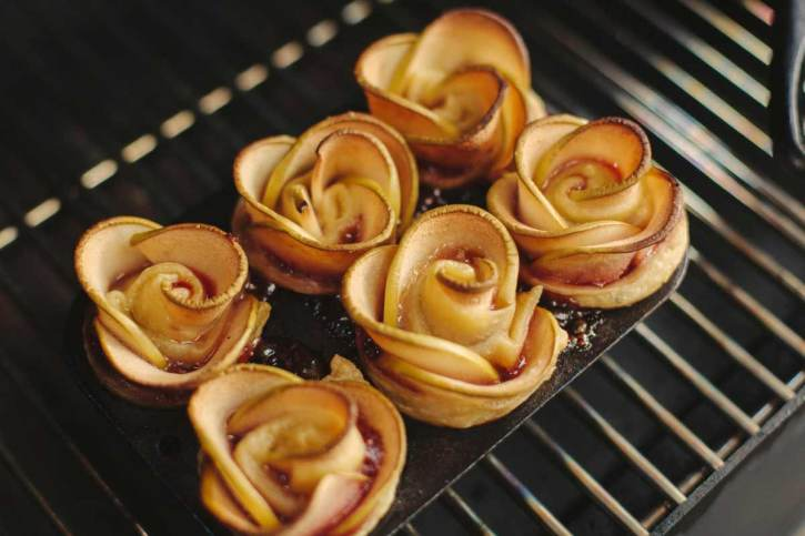 Apple Rose Puff Pastry