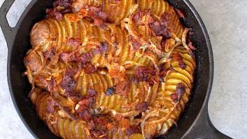 Crispy Skillet Potatoes Recipe