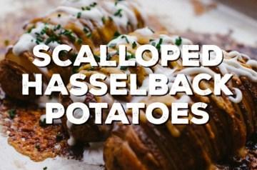Scalloped Hasselback Potatoes Recipe
