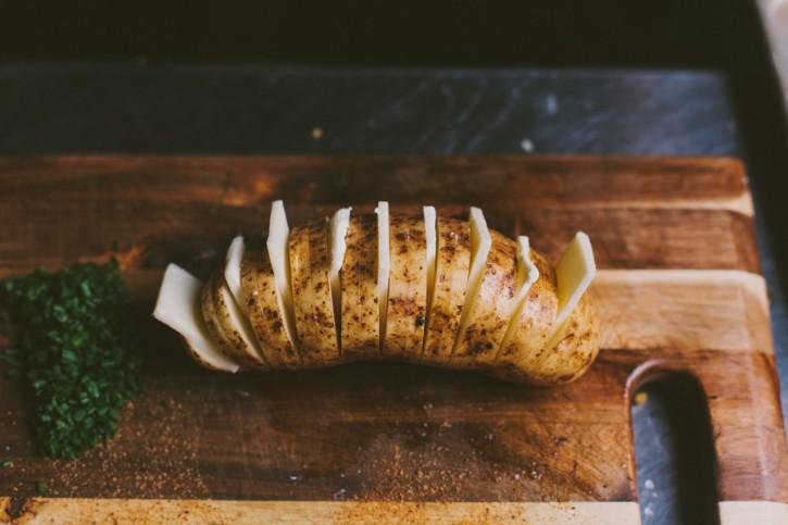 Scalloped Hasselback Potatoes