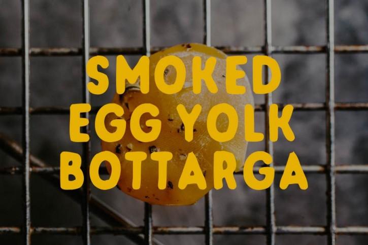 Smoked Yolk Bottarga