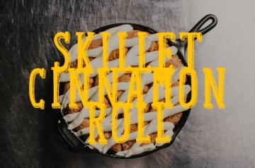 Skillet Cinnamon Rolls Recipe
