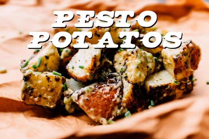 Pesto Potatos