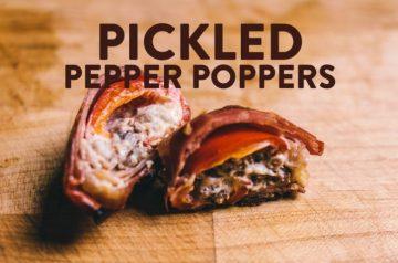Pickled Pepper Poppers Recipe