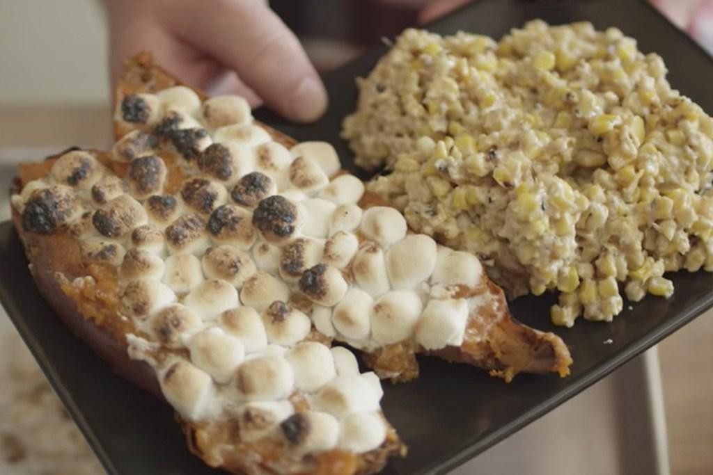 Grilled Cream Corn Recipe