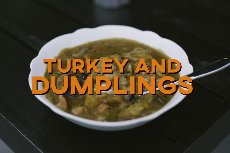 Turkey and Dumplings