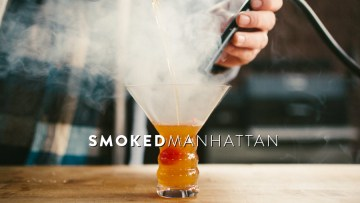 Smoked Manhattan Recipe