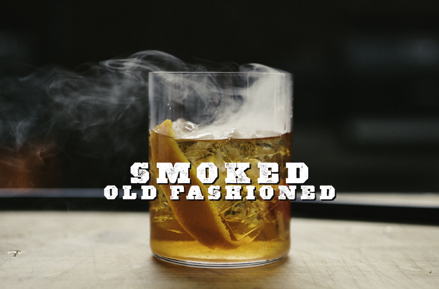 Smoked Old Fashioned Cocktail The Sauce By All Things Barbecue