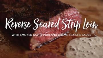 Strip Loin Roast, Reverse Seared Recipe