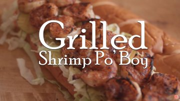Grilled Shrimp Po Boy Recipe