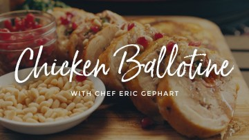 Chicken Ballotine Recipe
