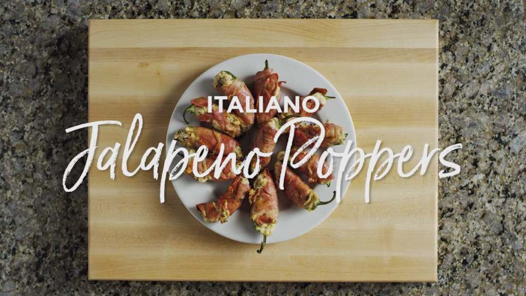 Grilled Italiano Jalapeno Poppers