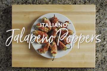 Grilled Italiano Jalapeno Poppers Recipe