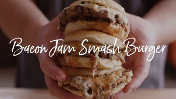Bacon Jam Smash Burger Recipe