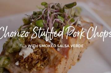 Chorizo Stuffed Pork Chops Recipe